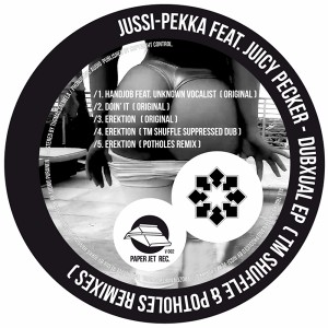 Jussi-Pekka feat. Juicy Pecker - Dubxual EP (Cover Art)