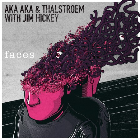 AKA AKA & Thalstroem - Faces Remixed - Cover Art